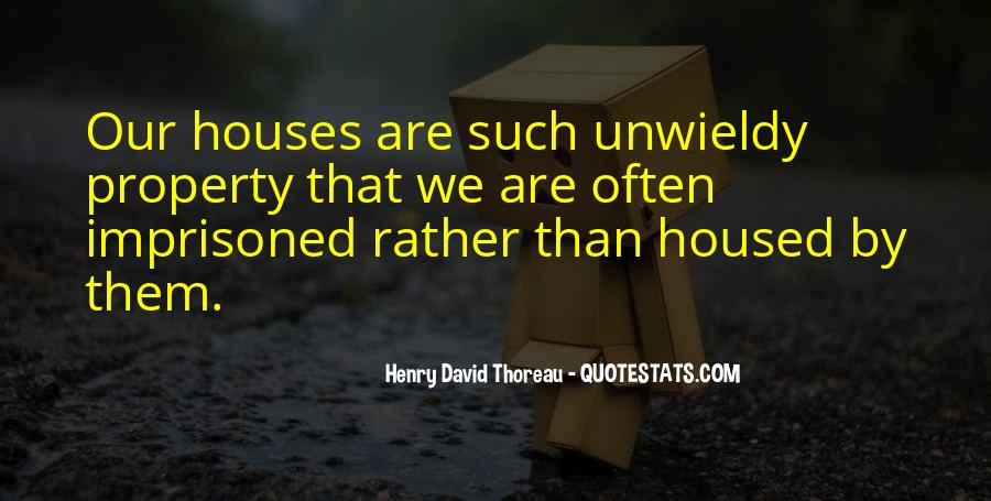 Quotes About Little Houses #2880