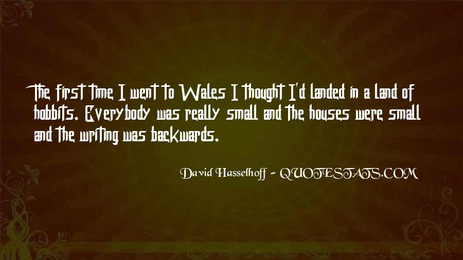 Quotes About Little Houses #80889