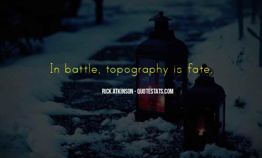 Quotes About Topography #1105625