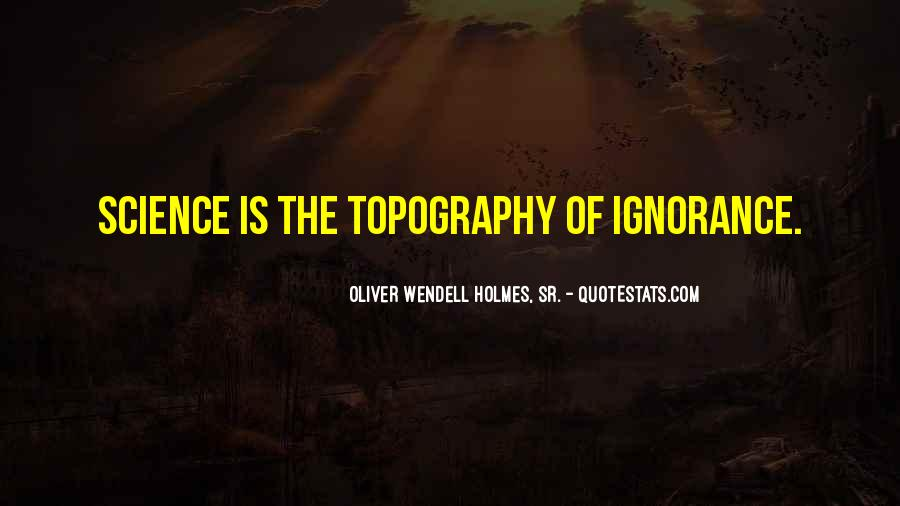 Quotes About Topography #1475667