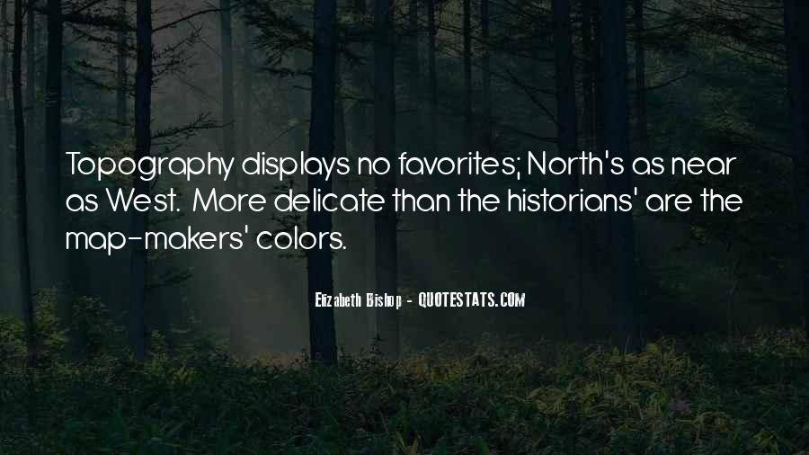 Quotes About Topography #45652