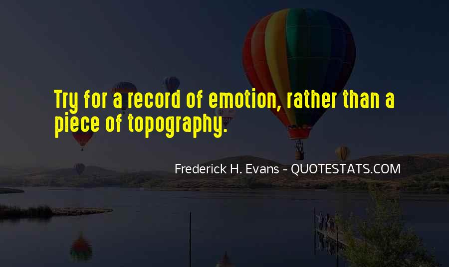 Quotes About Topography #985407