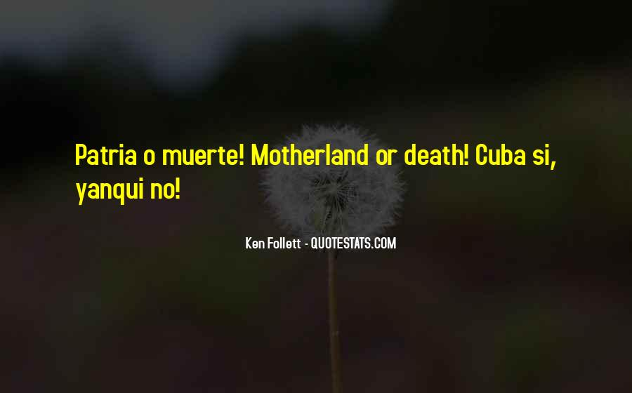 Quotes About Muerte #1069241