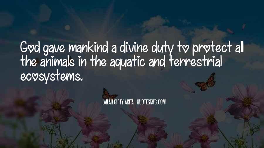Quotes About Aquatic Animals #1125937