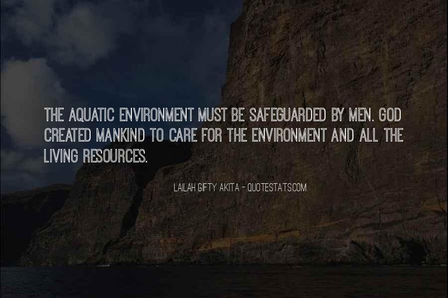 Quotes About Aquatic Animals #699841