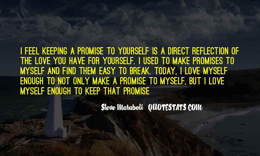 Quotes About Promises To Yourself #1000271