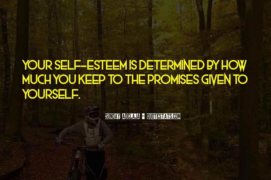 Quotes About Promises To Yourself #1017677