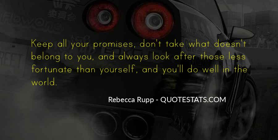 Quotes About Promises To Yourself #1124855