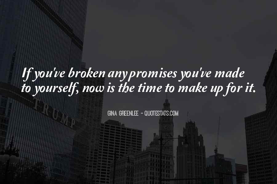 Quotes About Promises To Yourself #602220