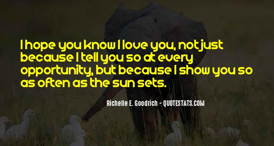 Quotes About Showing Love #1009559
