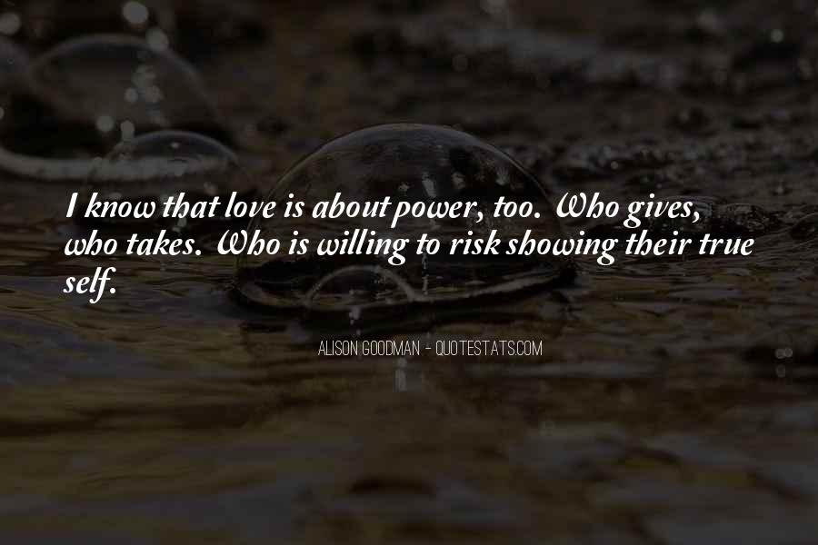 Quotes About Showing Love #1093364