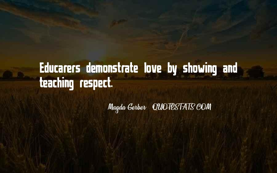 Quotes About Showing Love #198946