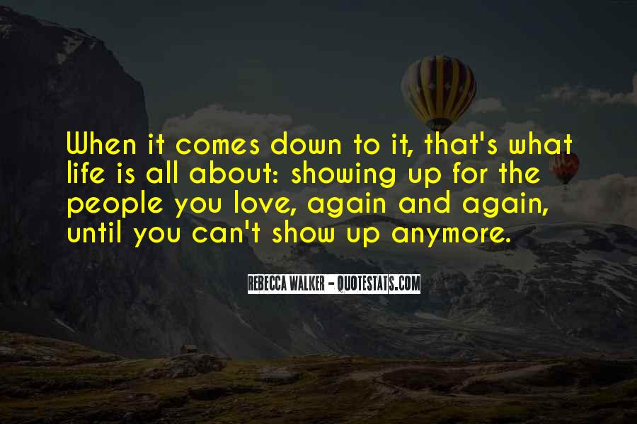 Quotes About Showing Love #454051