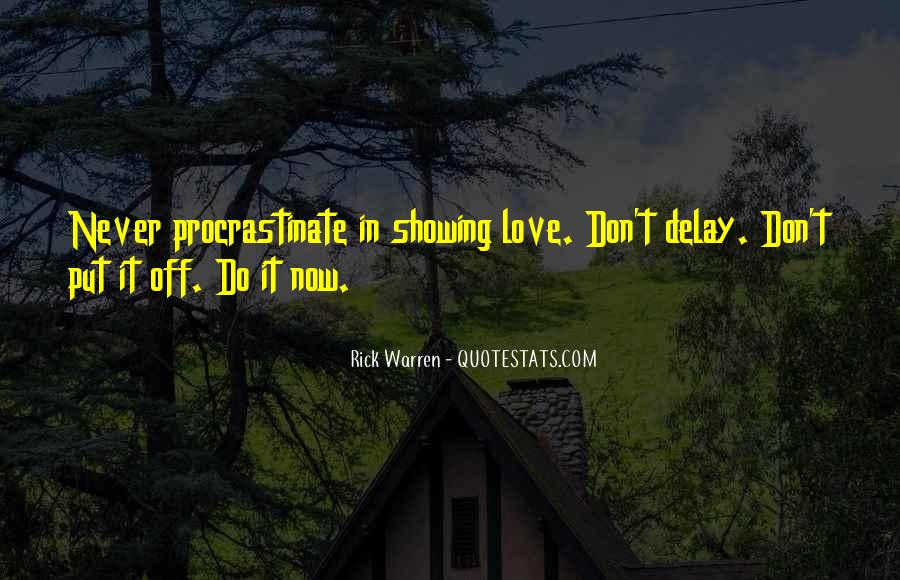 Quotes About Showing Love #460121