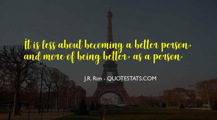 Quotes About Becoming A Person #1071415