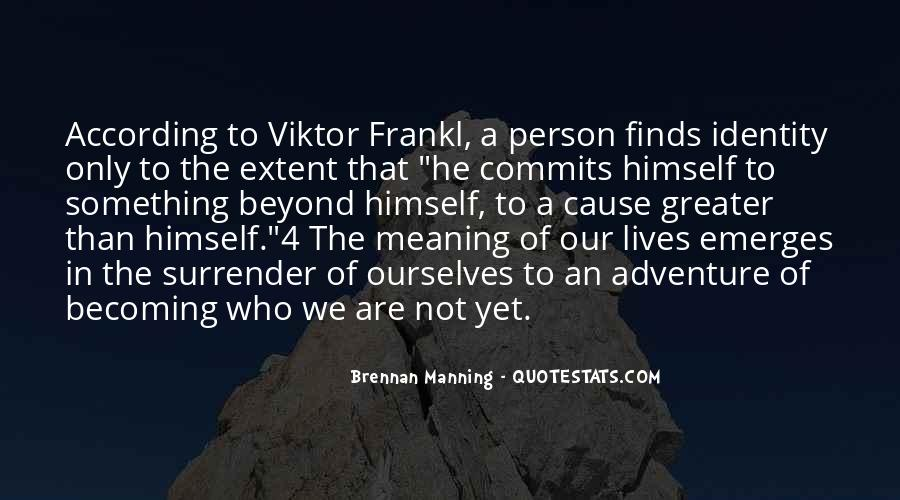 Quotes About Becoming A Person #460880
