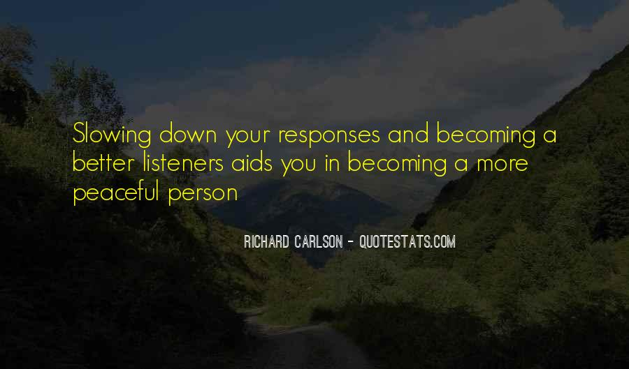 Quotes About Becoming A Person #682065