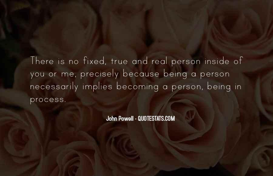Quotes About Becoming A Person #739902