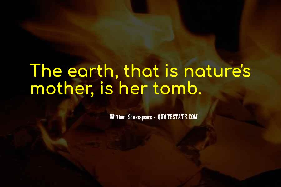 Quotes About Mother Earth And Nature #850013