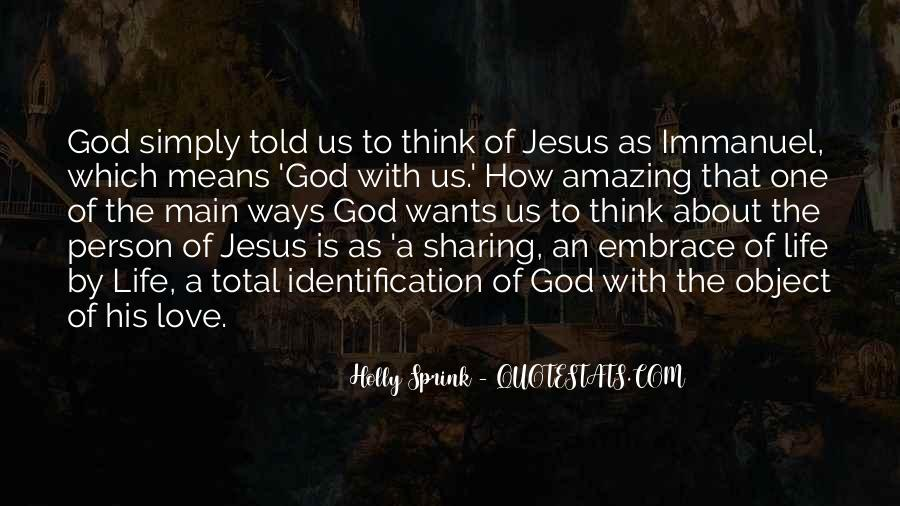 Quotes About Love By Jesus #1336936