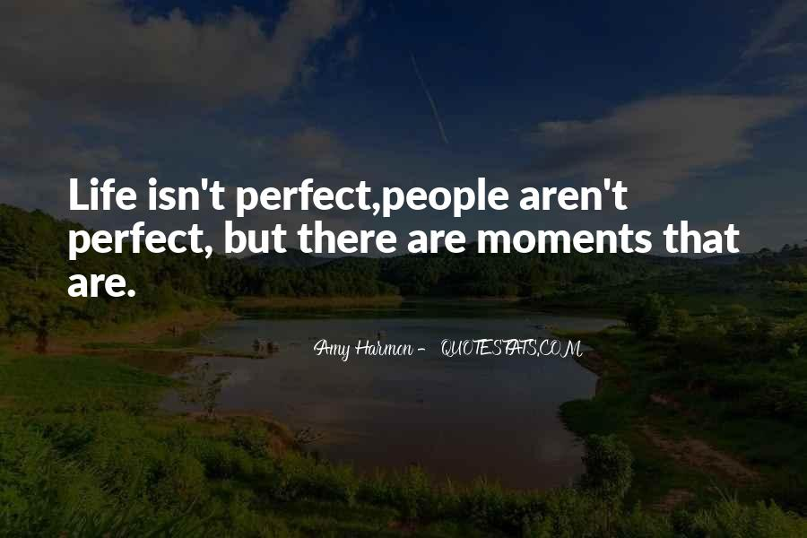 Quotes About Perfect Moments #16236