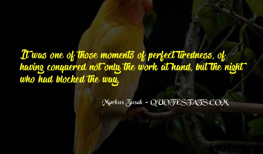 Quotes About Perfect Moments #1701201