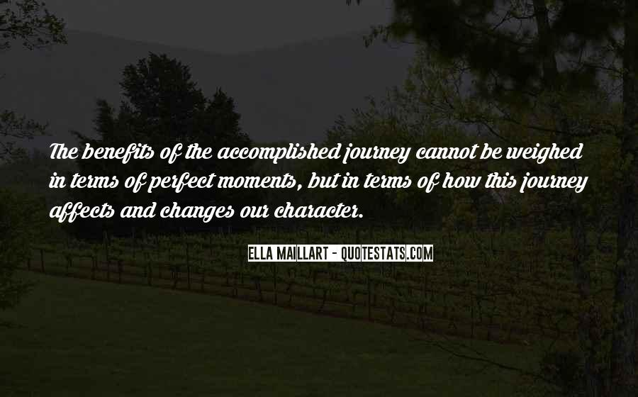 Quotes About Perfect Moments #274904
