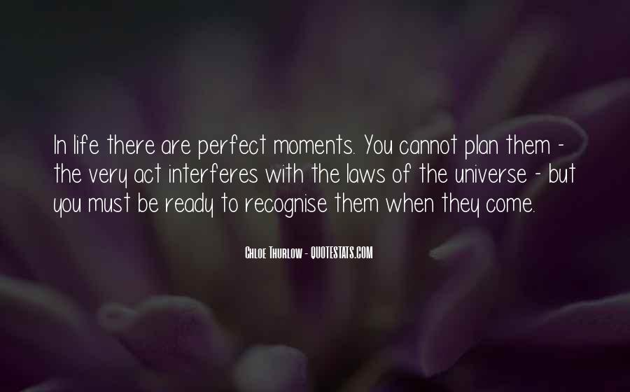 Quotes About Perfect Moments #45294