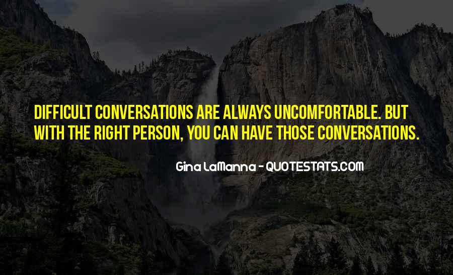 Quotes About Conversations #118734