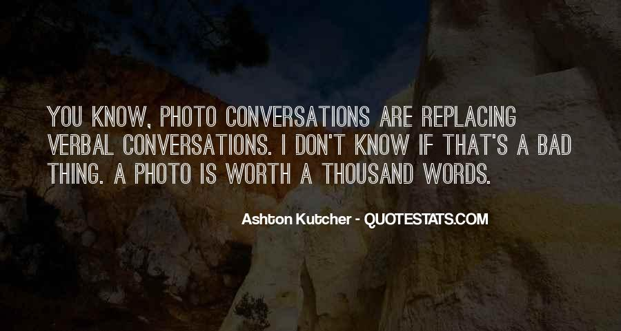 Quotes About Conversations #121281