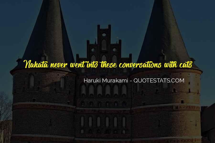 Quotes About Conversations #121430