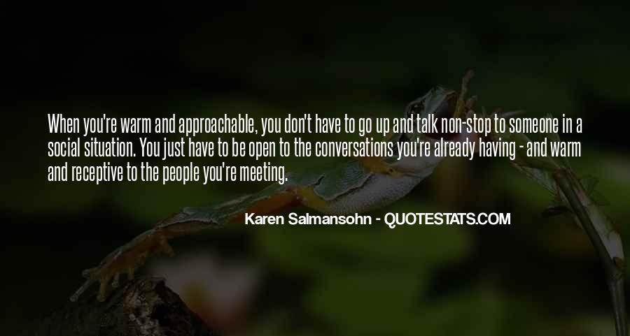 Quotes About Conversations #15411