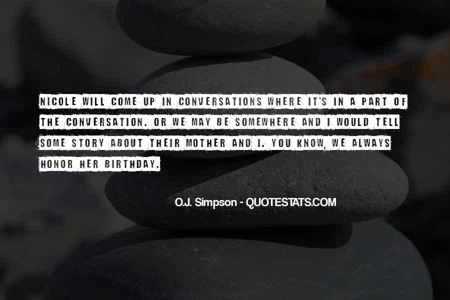 Quotes About Conversations #177543