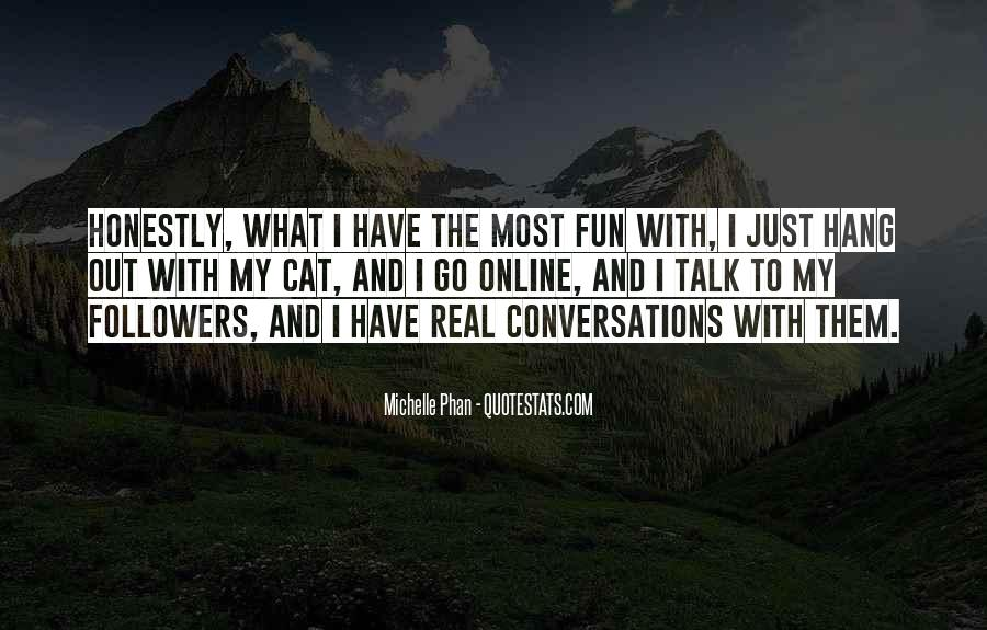 Quotes About Conversations #182807