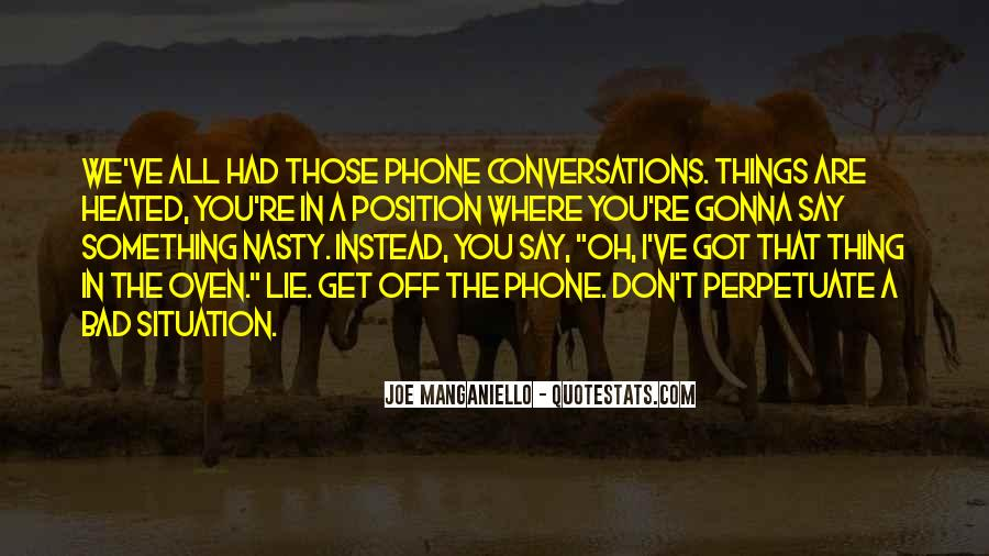 Quotes About Conversations #25606