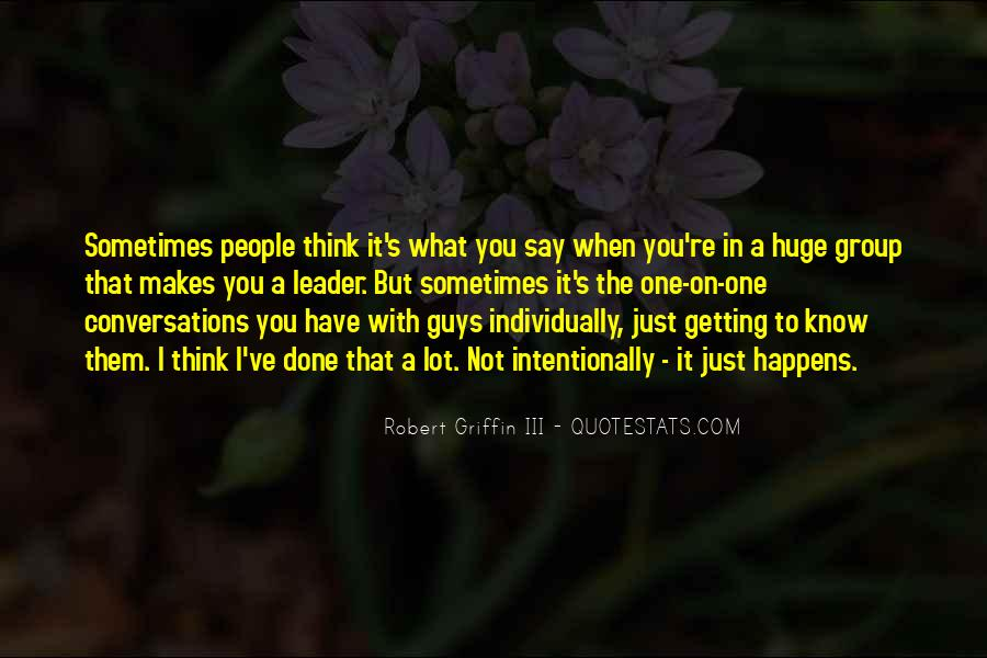 Quotes About Conversations #42108