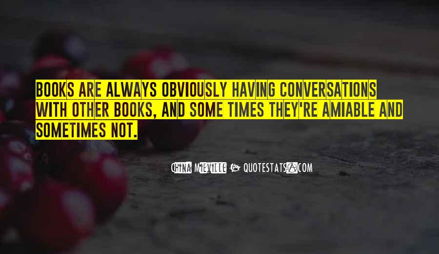 Quotes About Conversations #50236