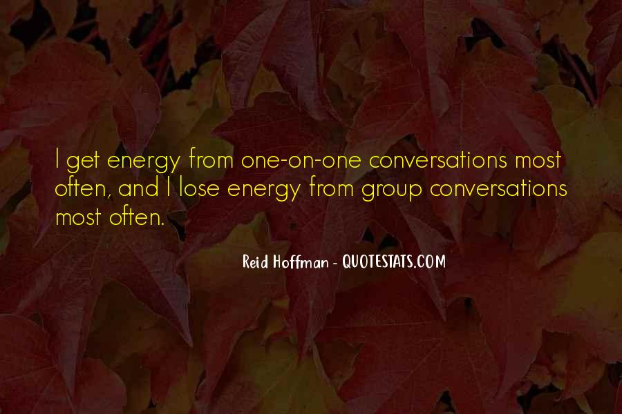 Quotes About Conversations #57422