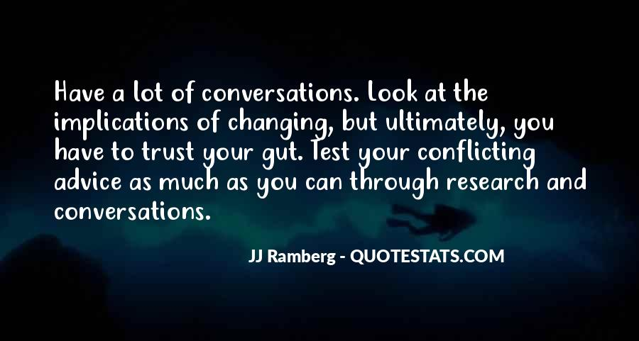 Quotes About Conversations #62189