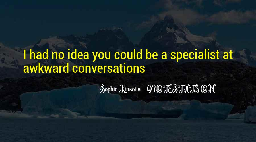 Quotes About Conversations #65338