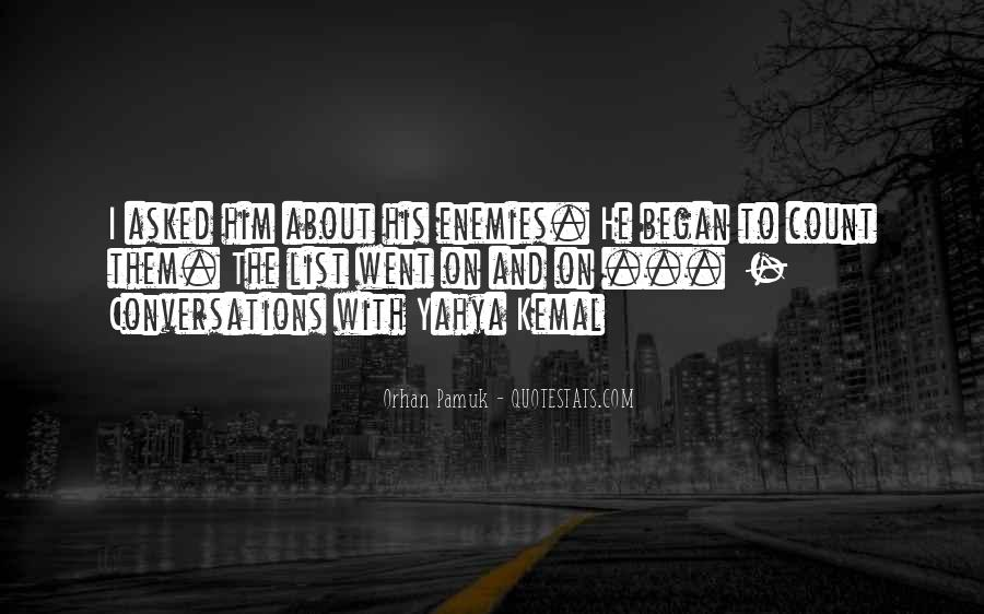 Quotes About Conversations #72733