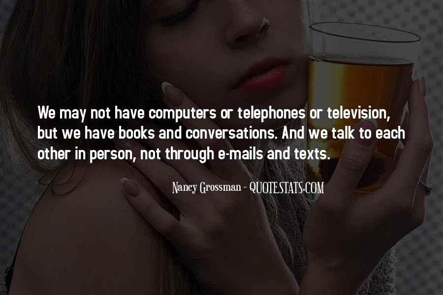 Quotes About Conversations #76085