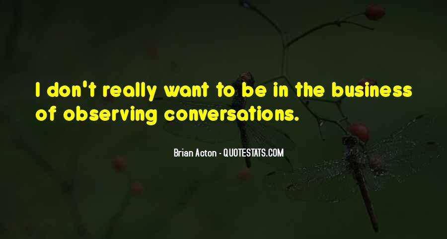 Quotes About Conversations #80156