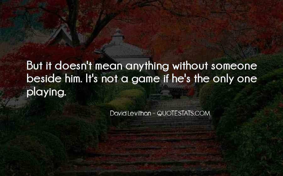 Quotes About Playing #8478