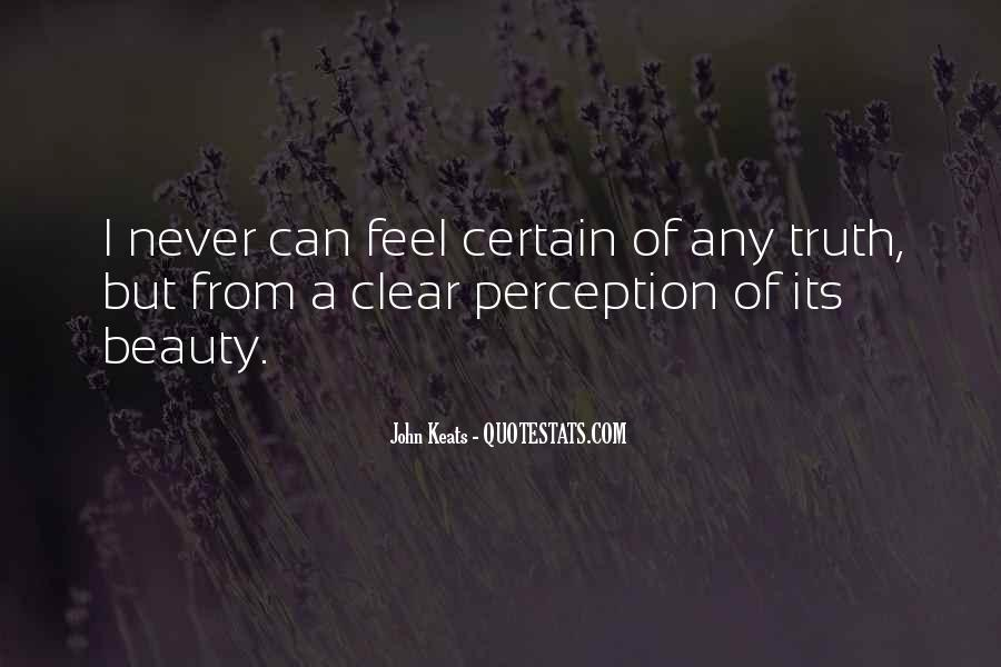 Quotes About Perception Beauty #1166575