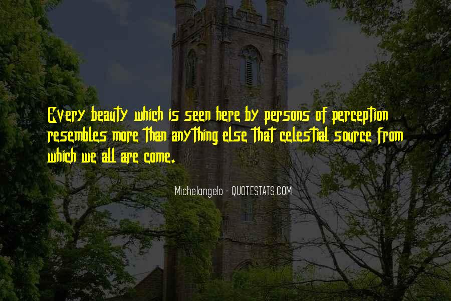 Quotes About Perception Beauty #1353562