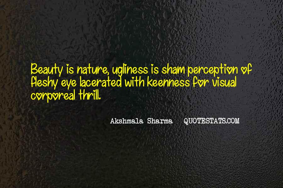 Quotes About Perception Beauty #775012