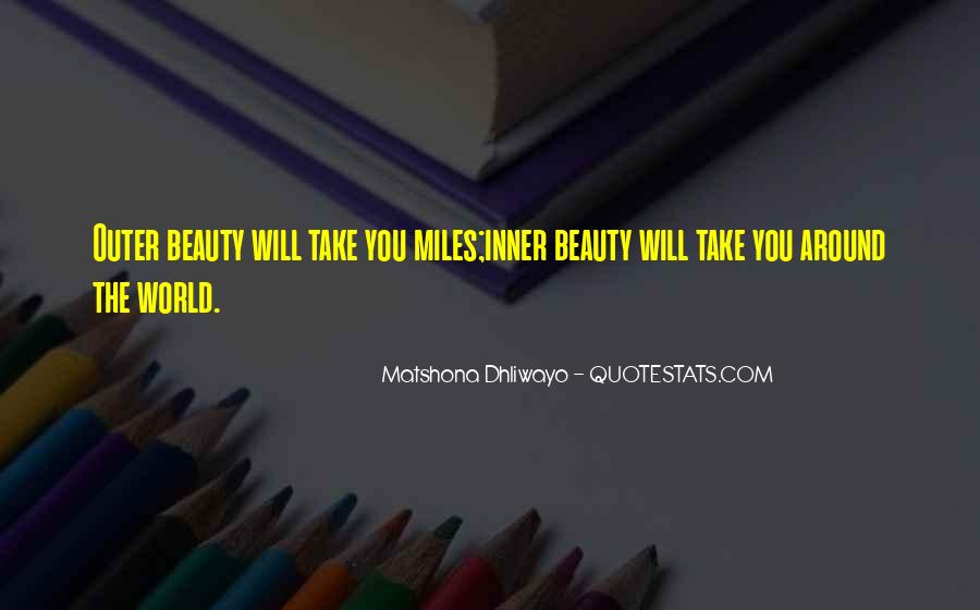 Quotes About Inner And Outer Beauty #1131167