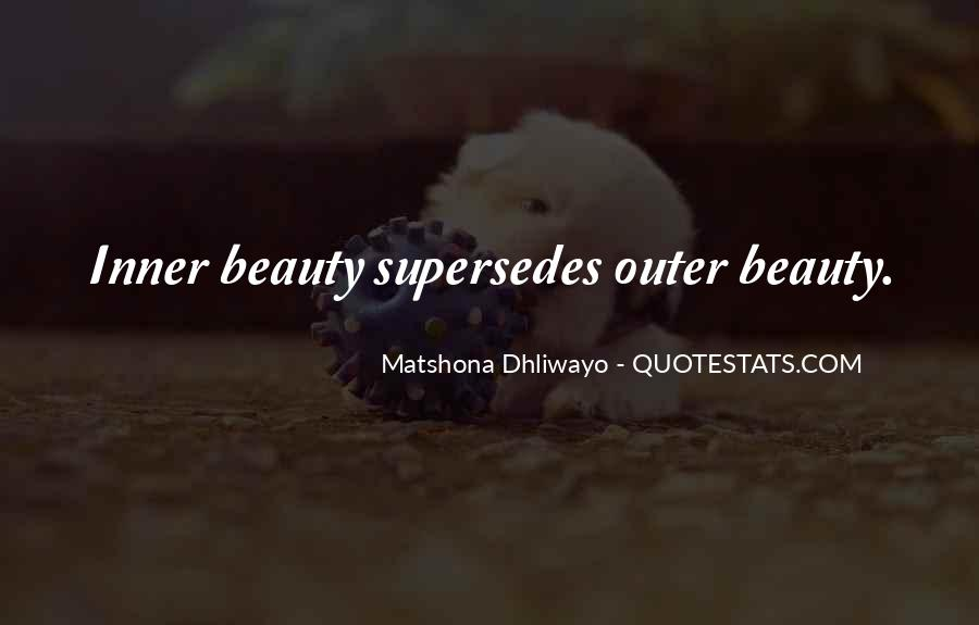 Quotes About Inner And Outer Beauty #1635990