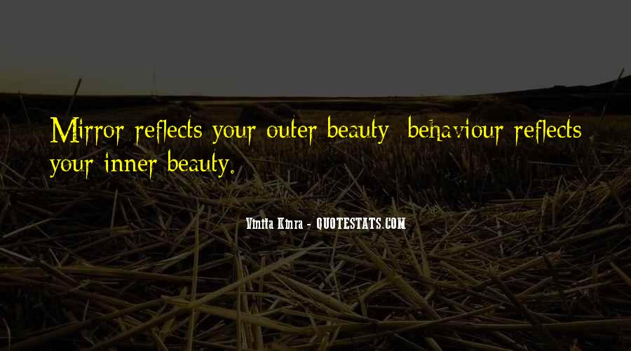 Quotes About Inner And Outer Beauty #827193